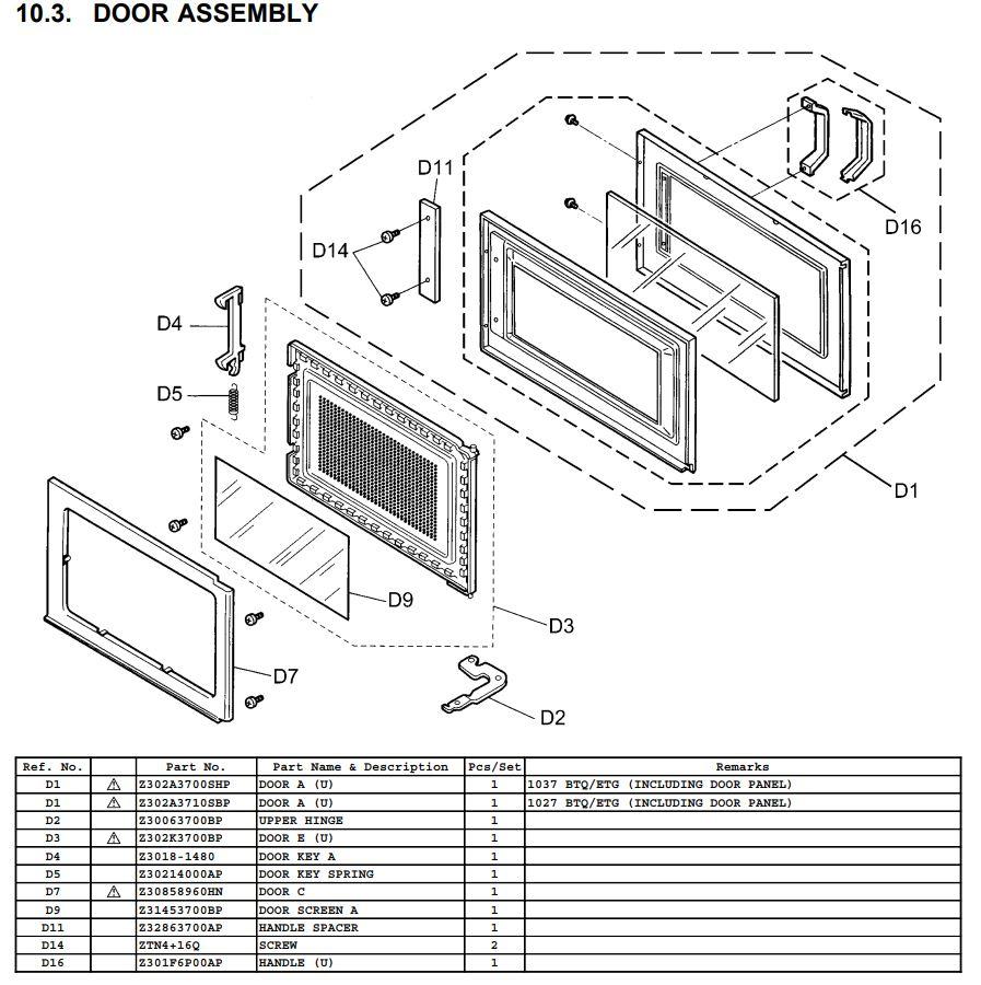 Panasonic Mikrowelle in 6923 Lauterach für € 80,00 zum