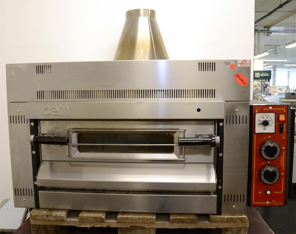 gebrauchtmaschinen oem pizzaofen erdgas sg 23 s gebraucht ohne gestell. Black Bedroom Furniture Sets. Home Design Ideas