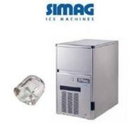 SIMAG Eiswürfelmaschine SDE 24 wassergekühlt    Hohlwürfel
